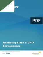Monitoring Linux Unix Environments -Solarwinds