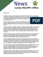 Potsdam Village Police Dept. Blotter Feb. 2, 2015