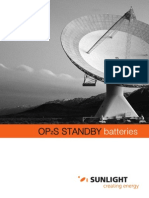 OPzS Sunlight Battery