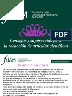 El-Articulo-cientifico-Fundacion de La Universidad Autonoma de Madrid