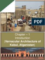 KABUL- Vernacular Architecture