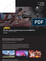 4K Live Production F55 Brochure