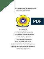 Kondisi Politik Sosial Ekonomi Dan Budaya Kawasan Asia Selatan