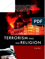 Terrorism Has No Religion Ayaz Kazi