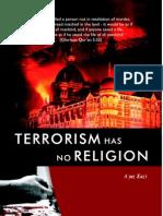Terrorism Has No Religion Ayaz Kazi