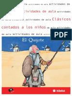 D. Quijote. Actividades