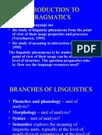 1. Introduction to Pragmatics