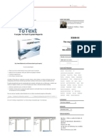 Função ToText Crystal Reports
