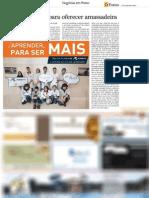 """Jornal O Ponto """"Likes angariados para oferecer amassadeira"""""""