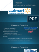 Walmart Information Systems