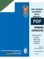 Normas y Procedimientos para la prevencion de control de enfermedades no transmisibles y sus factores de riesgo - Enfermedades Cardiovasculares