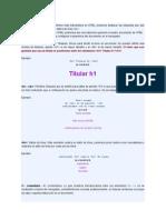 Más de HTML