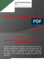 ANALISIS PROSPECTIVO A TRAVES DEL JUEGO DE ACTORES.ppt