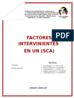Factores Intervinientes en Un Sca