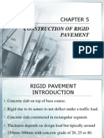 Chapter 5 Construction of Risssgid Pavement