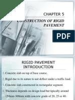 Chapter 5 Construction of Risssgid Pavement
