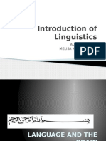 Introduction of Linguisticsneuro