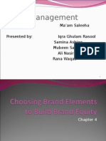 lect 9-10 Choosing Brand Elements to build Brand Equity.ppt