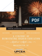 2015 UPCEA 100th Annual Conference Preliminary Program