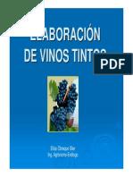 Vinificación Tintos PROCESOS 2010