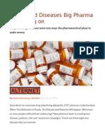 8 Invented Diseases Big Pharma is Banking On