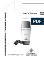Behringer Condenser Microphone C-3_P0262_M_EN