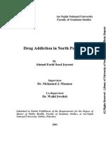 Drug Addiction in North Palestine