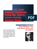 Henry Kissinger vs Bosnia Kosovo
