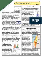 reading creation of israel
