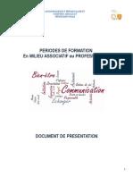 document de prsentation projet stage social ou civique