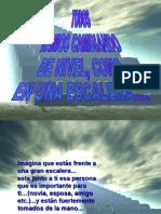 TODOS VAMOS CAMBIANDO DE NIVEL.pps