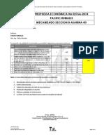 Propuesta Economica No 0276a-2014