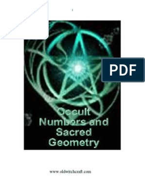 Numerology Occult Numbers and Sacred Geometry | Love