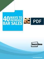 Ways to Increase Bar Sales Whitepaper