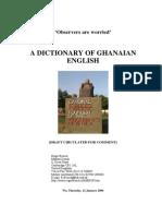 Ghana English Dictionary