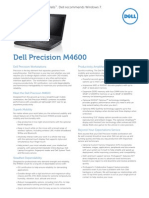 Quick Spec Datasheet Dell Precision m4600