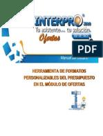 Manual Interpro 2010 Personalizacion Reportes