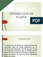 Distribucion Planta
