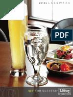 2014 Glassware Catalog - Plaatu
