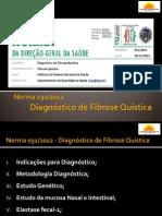 Diagnóstico de Fibrose Quística