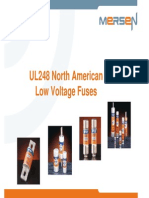 TM 106 Low Voltage American Canadian Fuses UL248 CSA En