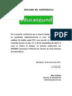Certificado de asistencia_Transmisisón y Doble FFT