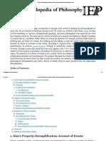EVENTS-Internet Encyclopedia of Philosophy