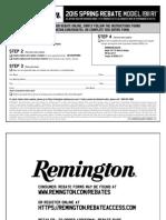 2015 Remington 1911 R1 Spring Rebate Form[1]