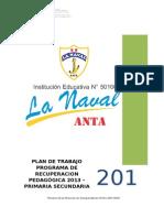 PLAN DE PROGRAMA DE RECUPERACIÓN PEDAGÓGICA 2013.docx