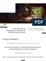 Novas Tendências Tecnológicas no Mercado de Tecnologia da Informação (2015)