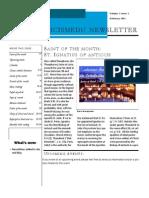 catholicismedu newsletter febraury 2015