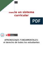 1.- Presentación Sistema Curricular