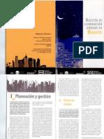 Boletín de Iluminación Urbana en Bogotá