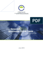 The Spanish Business Think Tank of Reference